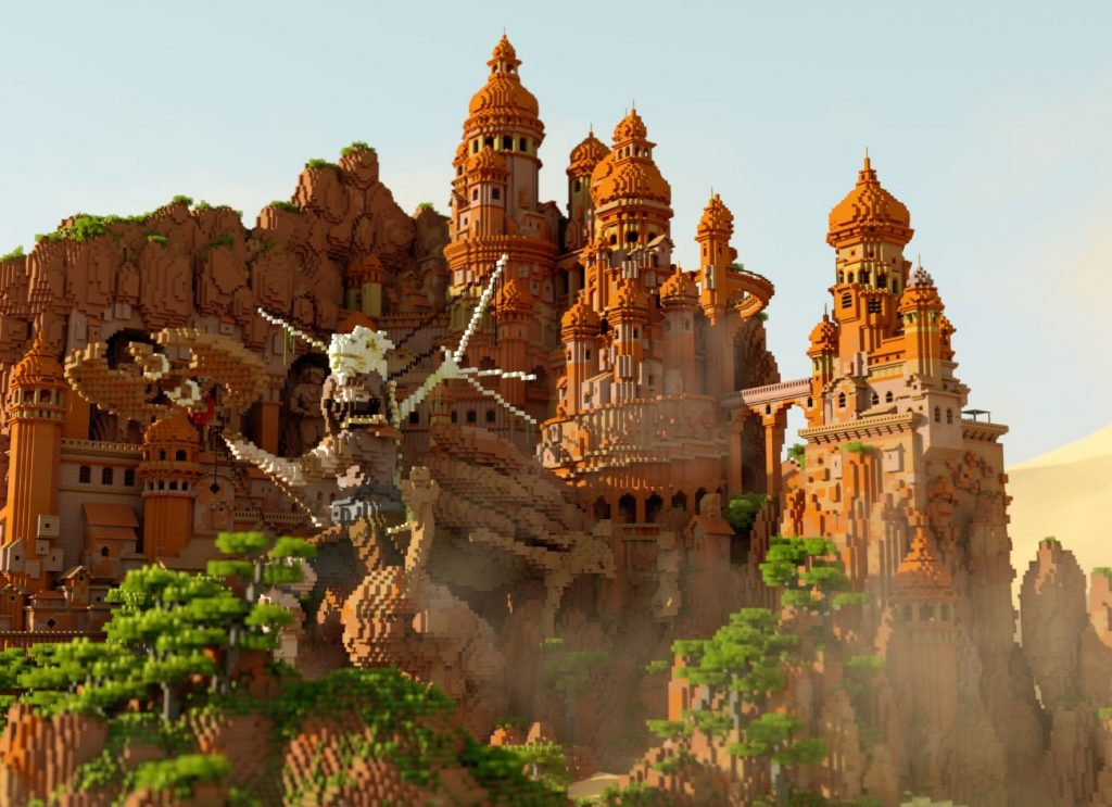 inspiration contest minecraft refuge builders place flash past build 2nd render